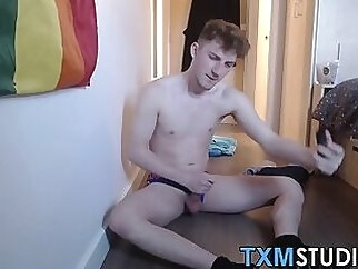 Cute young dude plays with his adult toys in homemade video 9:19 2020-02-18
