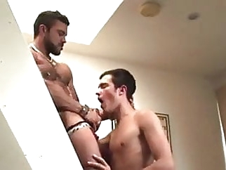 Sexy hunk man with young boy 22:31 2015-02-03