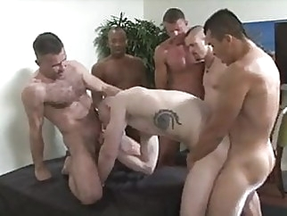 Give Me Those Loads. bareback (gay) big cock (gay) gangbang (gay)