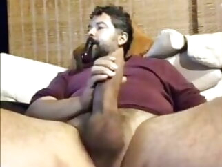 Big cock stepdaddy bear big cock masturbation