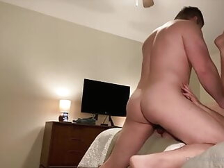 Local guy with a small dick fucks handsome bottom 8:14 2021-01-08