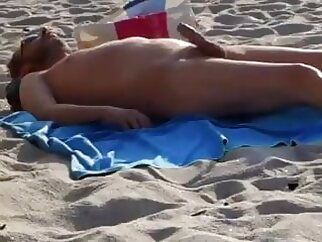 Cumming cum tribute outdoor gay beach