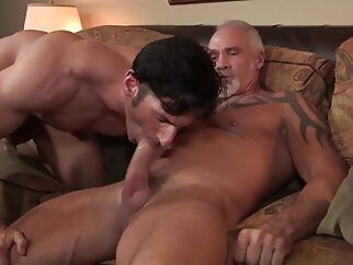 Dallas Steele and Sir Jet (BCD P2) bareback daddy hunk