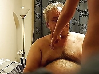 Bisexual Daddy amateur (gay) bear (gay) blowjob (gay)