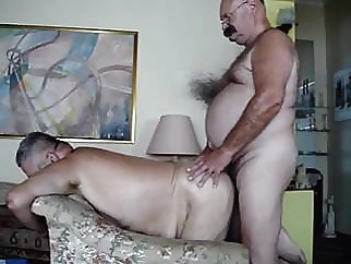 Fat men fucking a mature men man (gay) gay porn (gay) bear (gay)