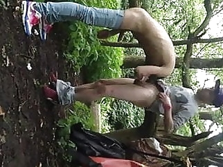 twink fucked in the park for everybody to watch amateur (gay) big cock (gay) outdoor (gay)