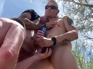 CRUISYCREEK BB BREDNECKS bareback big cock blowjob