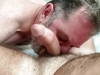 Ricguy enjoys hot young cub big cock amateur bear big cock